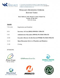 Quarterly Roundtable – July 30, 2019 | The Wallace Business Forum